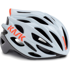 Kask Mojito X Cykelhjelm, white/orange